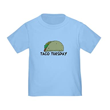 0cbb874d CafePress Taco Tuesday Toddler T-Shirt Cute Toddler T-Shirt, 100% Cotton