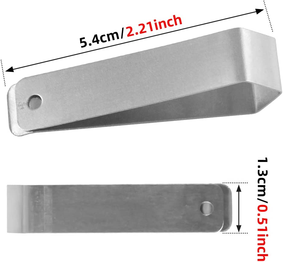 Garage Remote Visor Clip,Silver LiftMaster Garage Door Remote Visor Clip for Chamberlain Genie etc