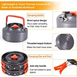 REDCAMP 14 PCS Camping Cookware Set with