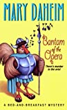 Front cover for the book Bantam of the Opera by Mary Daheim