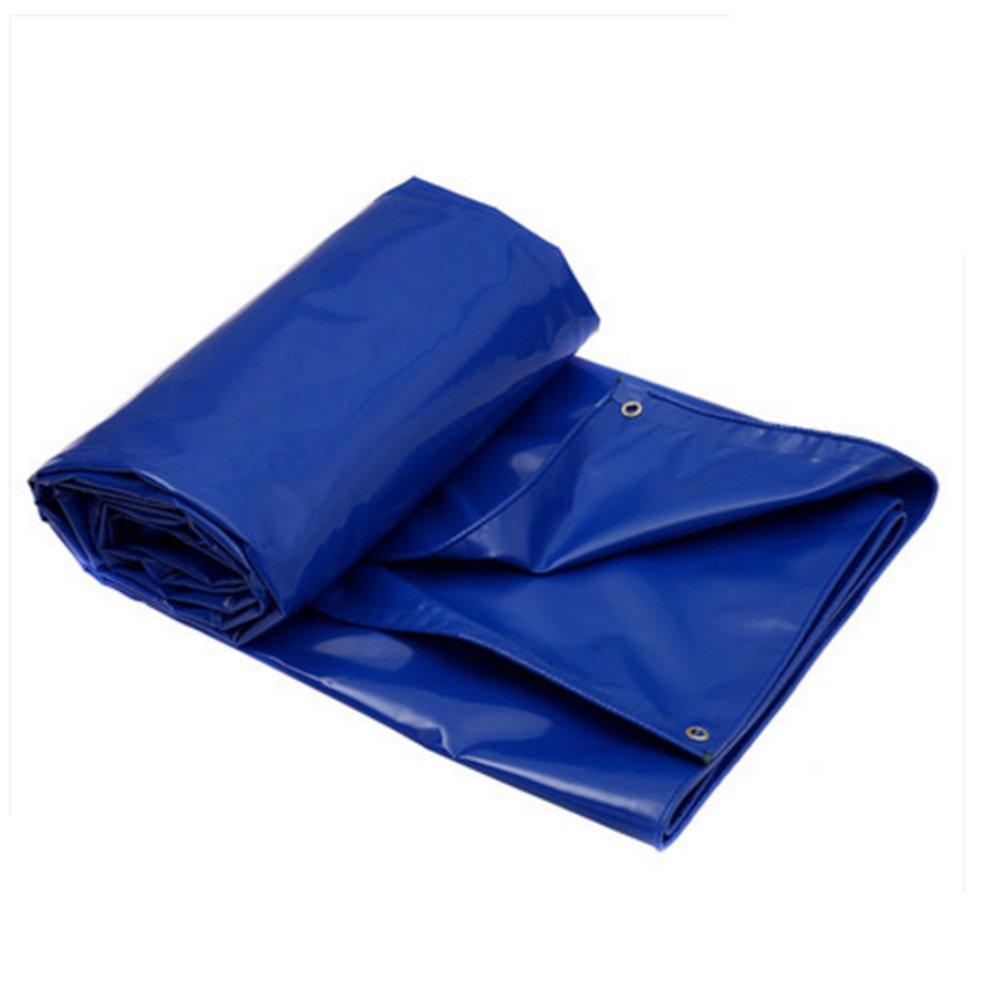 IAIZI Copriruota da campeggio impermeabile doppio resistente resistente resistente all'aria aperta in PVC - 100% impermeabile e prossoetto UV (Coloreee   Blu, dimensioni   4  3m) B07HL24KMG 43m Blu | Conosciuto per la sua bellissima qualità  | Impeccabile  | Più pratico  |  6744ac