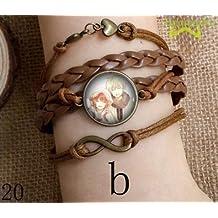 Bracelet key chain for Anime Snow White with the Red Hair Zen Wistalia Clarines and Shirayuki T