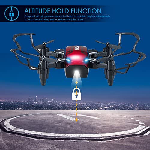 Pliable H6 RC Mini Drone avec maintien d/'altitude et sans tête mode 2.4GHz 6-Axis