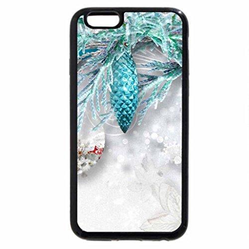 iPhone 6S / iPhone 6 Case (Black) Aqua Frost