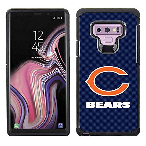 Prime Brands Group NFL-TX1-NOTE9-BEAR Cell Phone Case for Samsung Galaxy Note 9, NFL Chicago Bears