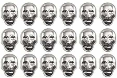 Skull Studs NEW punk rock goth emo gothic stud biker grunge retro studded skater