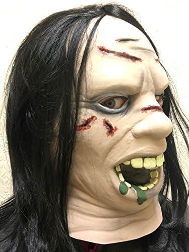 Regan EXORCISTA Película Máscara de Halloween Látex Cabeza Cuello ...