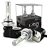 92 honda accord jdm headlights - JDM ASTAR Newest Version Extremely Bright 8400 Lumens Turbo Fan 9006 All-in-One LED Headlight Bulbs Conversion Kit For Limited Space Vehicle, Xenon White
