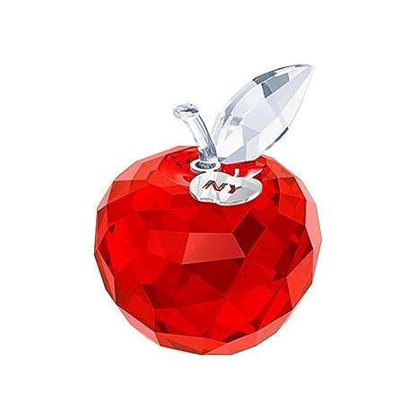 Amazon.com: Swarovski Nueva York Apple, Color Rojo: Home ...