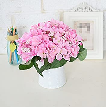 LLPXCC Artificial flowers Creative home floral dining table living ...