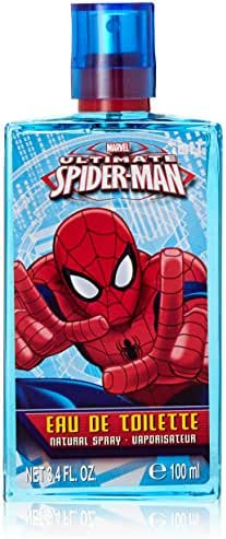 Marvel 2 Piece Ultimate Spider Man Gift Set with Metal Box for Kids