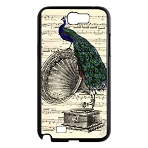 Gramophone Dictionary Art Samsung Galaxy N2 7100 Cell Phone Case Black Phone cover T7417168