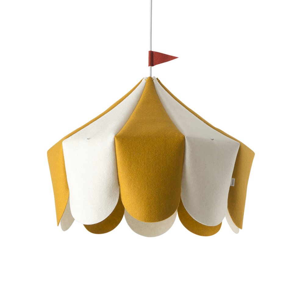 buokids Lampe Circus E27 - gelb - 43 x 42 x 38 cm