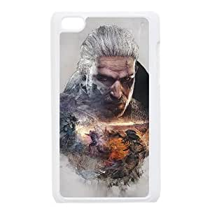 iPod Touch 4 Case White The Witcher3 Wild Hunt Cell Phone Case Cover H5U6OW