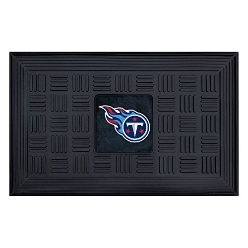Fanmats 11459 NFL Tennessee Titans Vinyl Medallion Door Mat ()
