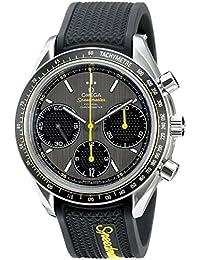 Men's 326.32.40.50.06.001 Speed Master Racing Analog Display Swiss Automatic Black Watch