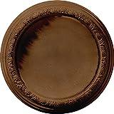 Ekena Millwork CM19CARZS Carlsbad Ceiling Medallion, Rubbed Bronze