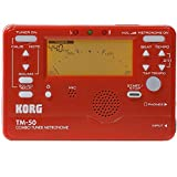 Korg TM-50 Combo Instrument Tuner and Metronome (Red)