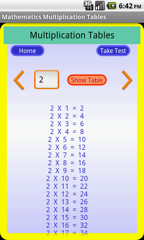 Amazon.com: Mathematics Tables: Appstore for Android