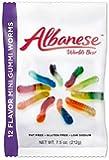 Albanese World's Best 12 Flavor Mini Gummi Worms - 7.5 oz. (212g)