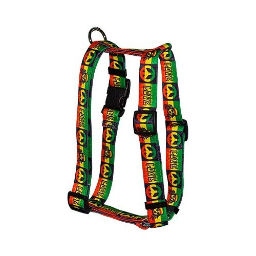 Yellow Dog Design Roman Harness, X-Large, Rasta