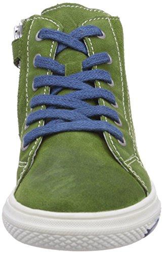 Richter Kinderschuhe Mose 6242-521 Jungen Hohe Sneakers Grün (cactus/ink  5901)
