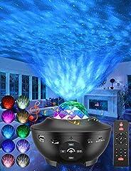 Star Projector, 3 in 1 Galaxy Projector Night Light Projector w/LED Starlight Projector with Bluetooth Music S