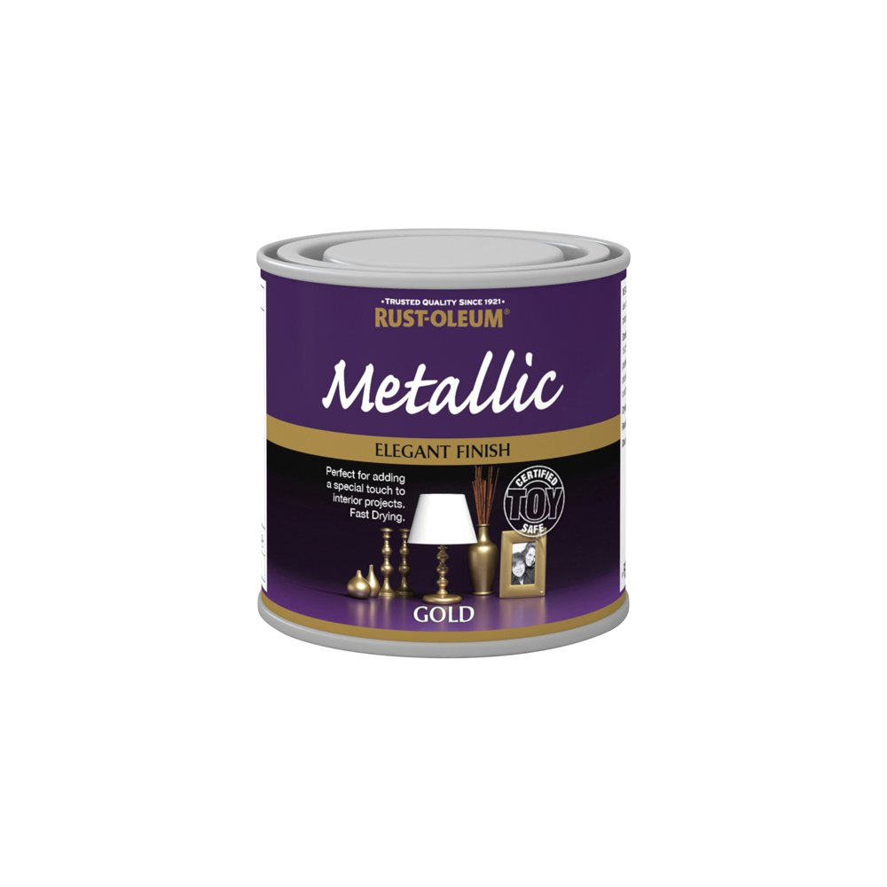 Rust-Oleum 250ml Metallic Toy-Safe Paint - Gold AMZ0006