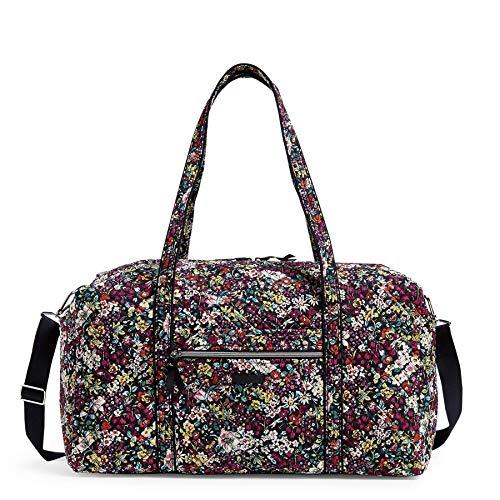 Vera Bradley Women's Signature Cotton Large Travel Duffel Bag, Itsy Ditsy, One Size