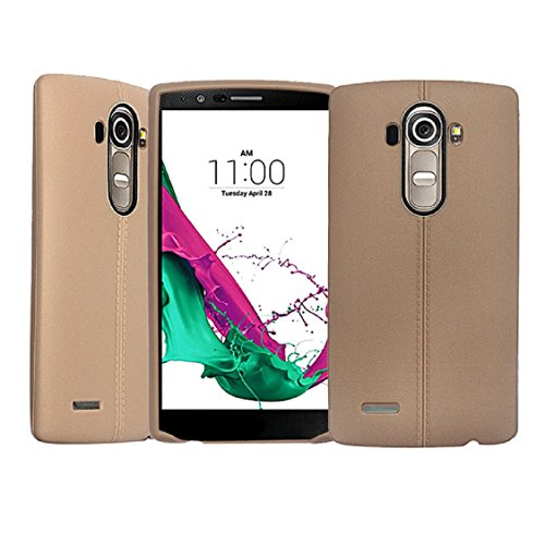 TPU Silicone Back Case for LG G4 (Brown) - 5