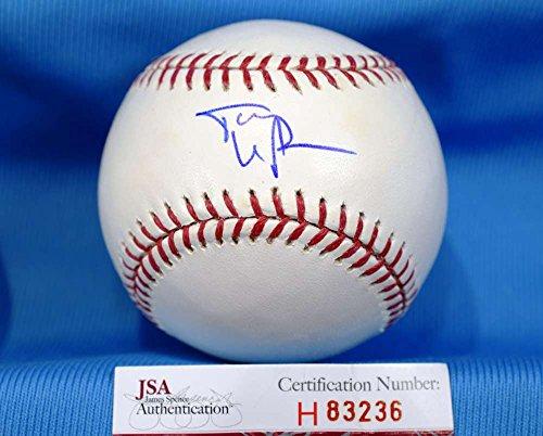 TONY LARUSSA JSA COA Hand Signed Major League Autograph Baseball
