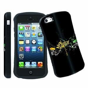 [ArmorXtreme] Apple iphone 5C Ultra Shock Absorbent Tough Designer Case [Guitar Wing]