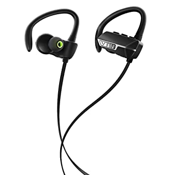 VTIN Auriculares inalámbricos Bluetooth 4.0 estéreo de Sports manos libres auriculares de carreras audífono de ejercicio