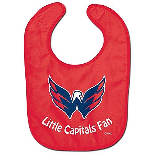 WinCraft NHL Washington Capitals WCRA2064314 All Pro Baby Bib