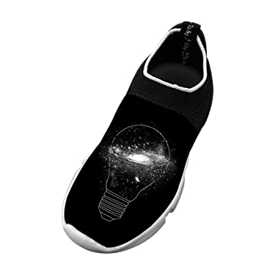 Sparkle Unlinmited Flyknit Shoes Light Sports Transform Running Shoes For Kids