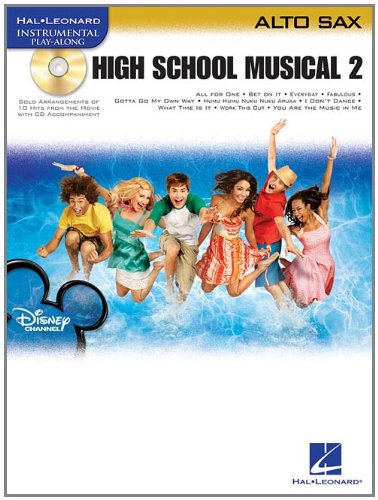 - High School Musical 2: Alto Sax Play-Along Pack (Hal-leonard Instrumental Play-along)
