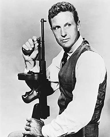 Robert Stack 11x14 HD Aluminum Wall Art as Eliot Ness in The ...