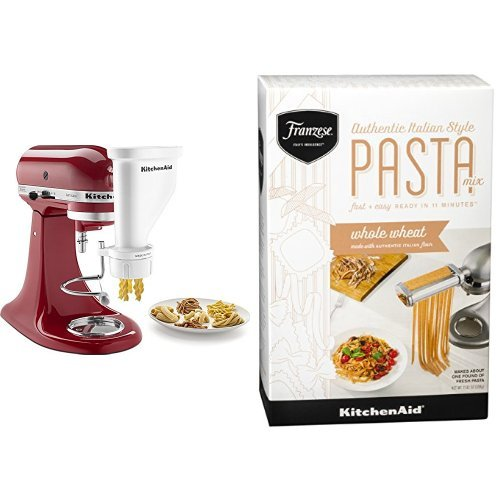 Amazon.com: KitchenAid KSMPEXTA Gourmet Pasta Press ...