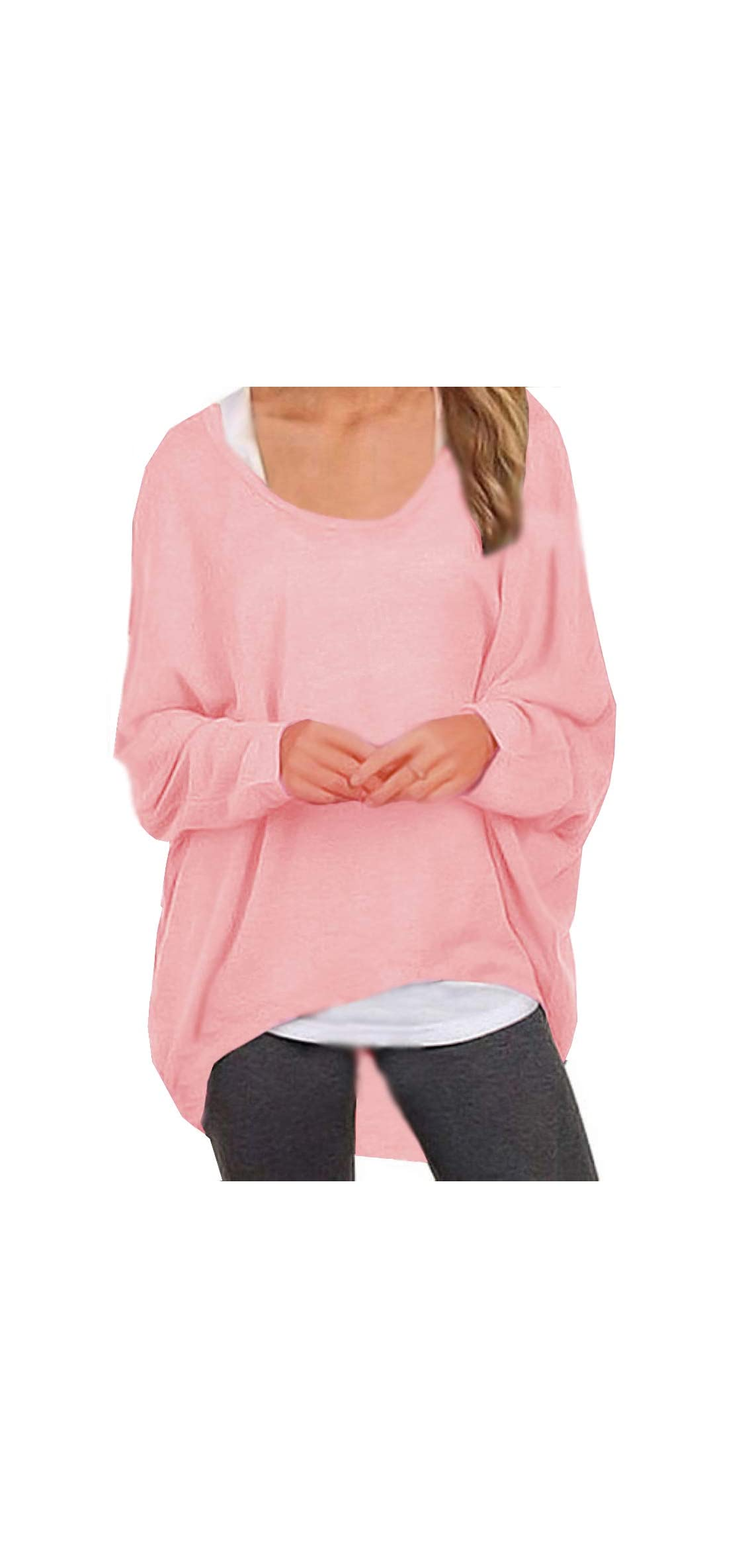 Women's Sweater Casual Oversized Baggy Loose Fitting Shirts