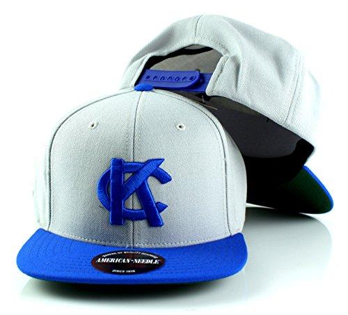 - Kansas City Blues MILB American Needle Scripteez Cooperstown Wool Adjustable Snapback Hat