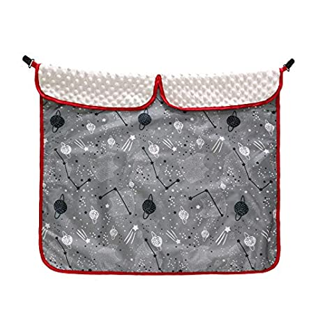 Pabellón de asiento de auto para bebé, mantas impermeables ...
