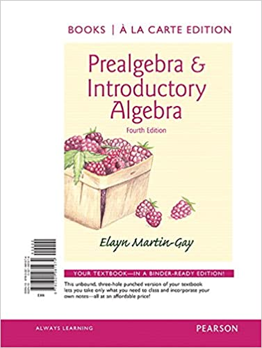 Prealgebra introductory algebra books a la carte edition 4th prealgebra introductory algebra books a la carte edition 4th edition 4th edition fandeluxe Gallery