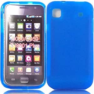 Gel Case Cover Shell For Samsung Galaxy S i9000 i9001 / Dark Blue