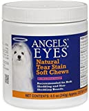 Clear Eyes & Keep Tear Stains Away - Any Eye Irritation for Pet Dogs or Cat Recommended for Both Shedding and Non-Shedding Breeds, Natural Ingredients 120 Soft Chews USA Made