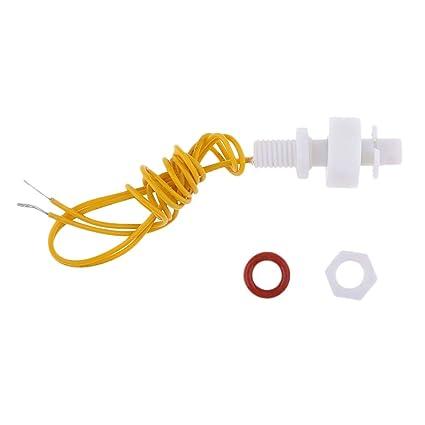P Prettyia Interruptor de Flotador Vertical Sensor de Líquido Nivel del Agua para Piscina Tanque
