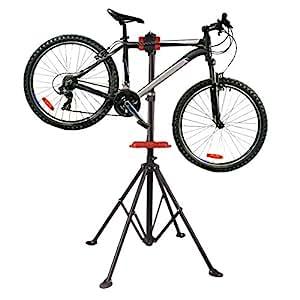 TataYu Folding Bicycle Bike Cycle Repair Maintenance Stand Workstand Home Mechanic-Red
