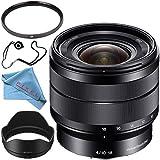 Sony E 10-18mm f/4 OSS Lens SEL1018 + 62mm UV Filter + Fibercloth + Lens Capkeeper Bundle