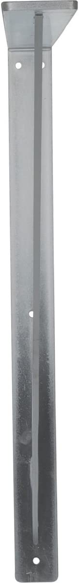 Hammered Black 2 Wx 24 Dx 24 Ekena Millwork BKTM02X24X24LEHBL 2 W D x 24 H Legacy Steel Bracket
