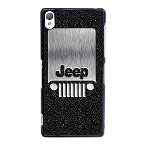 Sony Xperia Z2 Cell Phone Case Blcak Jeep Car Logo Custom Case Cover 3YUI503915