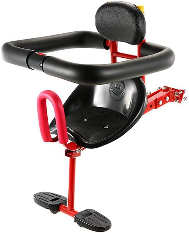 Portabebés Asiento de bicicleta delantero para bebé Asiento de ...